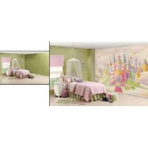Wallpaper environmental graphics wall murals princess for Do it yourself mural