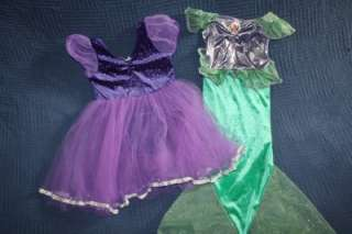 Huge Lot Girls DRESS UP CLOTHES COSTUMES  Disney Princess Angel