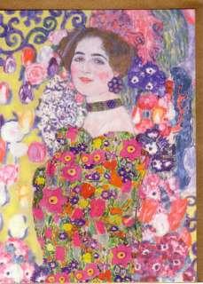 Gustav Klimt Art Nouveau Greeting Cards 2009 Assortment of 4 New