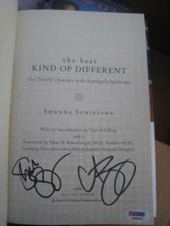 Curt Schilling signed Book Best Kind Different PSA/DNA