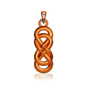 Medium Thick Double Infinity Symbol Charm, Best Friends Forever Charm