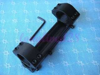 Double 25mm Ring Flashlight/Scope/Laser Mount Weaver Dovetail 11mm