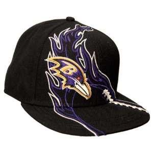 NFL Baltimore Ravens REDZONE Flat Bill Cap Sports