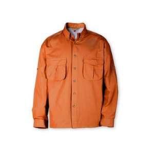 Redington Slipstream Long Sleeve Fishing Shirt Rust