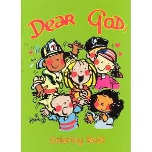 Dear God Kids Coloring Book (Kappa Activity Books) Anne