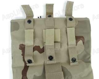 Molle Tactical Magazine DUMP Pouch Big US Desert Camo A