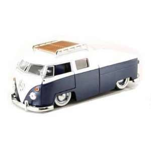 Pickup w/Luggage Rack V DUBS 1/24 (Mass) Blue / White: Toys & Games