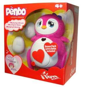 Penguin BONUS PACK 2 Bebe Surprise Eggs Eggshells Toys & Games