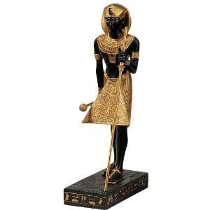 Egyptian Statue King Tutankhamen Pharaoh Statue Sculpture Home
