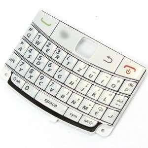 Original Genuine OEM Pearl White QWERTZ Keyboard Keypad