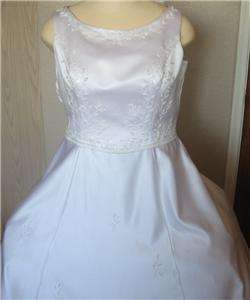 BEAUTIFUL PRONOVIAS WHITE WEDDING BRIDAL GOWN LG / XLG USA SIZE 18