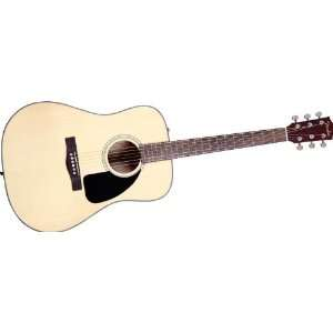 Fender Cd100 Acoustic Guitar Natural: Musical Instruments