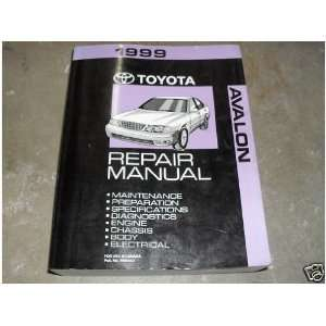 1999 Toyota Avalon Service Repair Shop Manual Oem 99