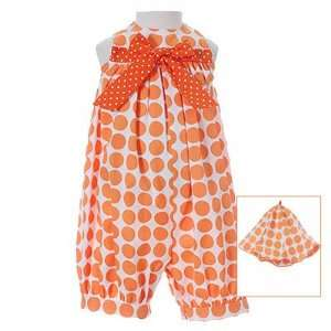 Newborn Baby Infant Girls Clothes ORANGE OUTFIT MOLLY