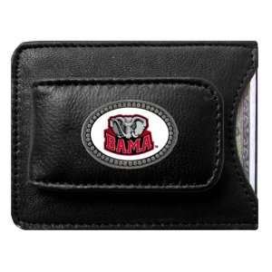 Alabama Crimson Tide Logo Credit Card/Money Clip Holder: