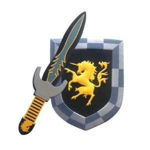 Unicorn Foam Sword and Shield: Toys & Games