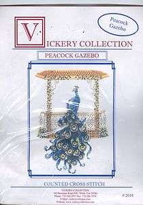 PEACOCK~Counted Cross Stitch Kit~Birds Animals