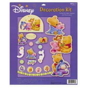 Winnie the Poohs Baby Days Shower Party Decoration Kit