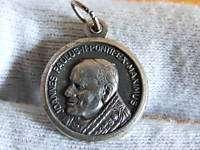 Vintage Paulus Vi Pontifex Maximus Medal Coin Pendant Roma Pope