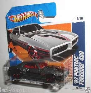 Hot Wheels 67 PONTIAC FIREBIRD 400 #86 RL Short Card 027084944341
