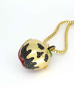 Disney Couture Snow White Poison Apple Locket Necklace