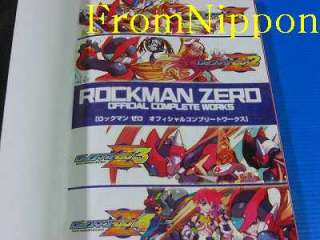 Mega Man Zero Rockman Zero Official Complete Works 2006 CAPCOM