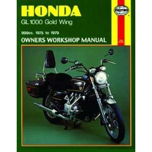 Haynes Manual   Honda GL1000 Gold Wing 75 79 Automotive