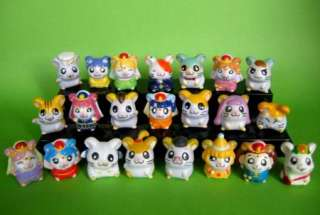 Set of 22 Hamtaro Hamster Japanese Anime figure lot
