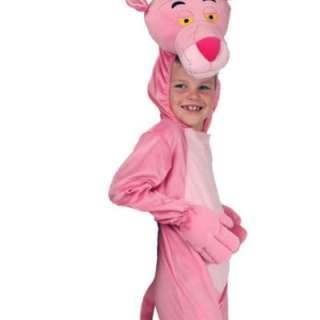 Pink Panther Boys/Girls Fancy Dress Costume 3 4 5 6 7 8
