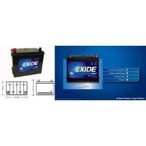 Exide 24 60 Standard Automotive Battery Automotive