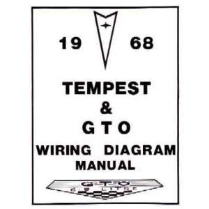 1968 PONTIAC GTO TEMPEST Wiring Diagrams Schematics Automotive