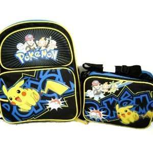 Pokemon Large Backpack Matching Lunch Box Toys & Games