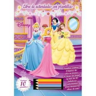 Libro de actividades con plantillas: Disney Princesa: Disney Princess
