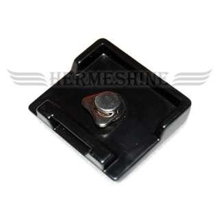 QR Quick Release Plate Tripod Head For Fancier FT 6662A