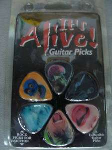 Its Alive 6 Collectable Guitar Picks