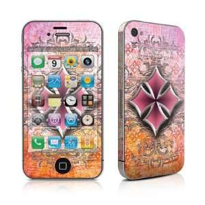 Pink Cross Design Protective Skin Decal Sticker for Apple