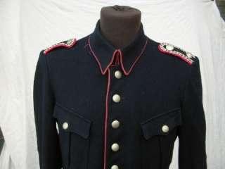 WW2 WWII ERA GERMAN ARMY FEUERWEHR FIRE BRIGADE DRESS JACKET