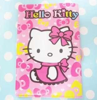 Hello Kitty Shortcake Card Travel ID Passport Holder
