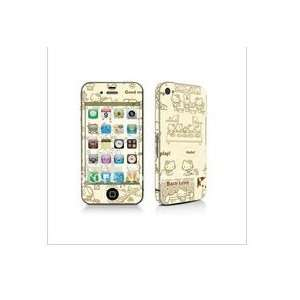 iphone 4 gsm only AT&T   3m (hello kitty design) full body