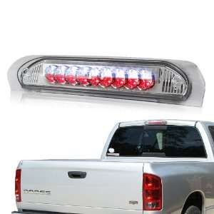 2008 Dodge Ram Chrome Housing LED 3rd Brake Stop Light Automotive