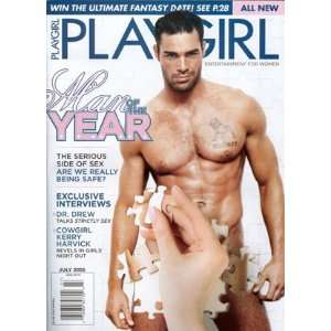 Playgirl Magazine   Man of the Year (July 2005): Books