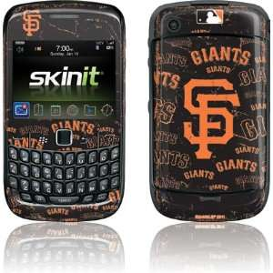 San Francisco Giants   Cap Logo Blast skin for BlackBerry