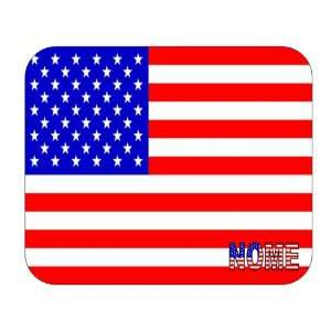 US Flag   Nome, Alaska (AK) Mouse Pad Everything Else