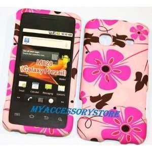 Samsung Prevail M820 Pink Flower Graphic Design Hard