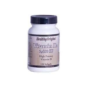 Healthy Origins Vitamin D3 High Potency Vitamin D 120