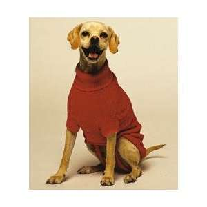 Fashion Pet Classics Red Cable Dog Sweater