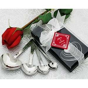 Love Beyond Measure Heart Measuring Spoons in Gift Box