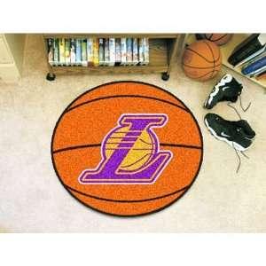 Los Angeles Lakers NBA Basketball Mat (29 diameter)