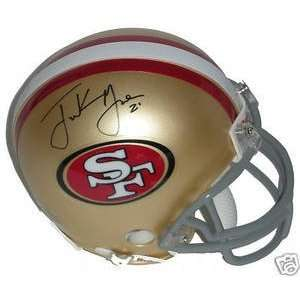 Frank Gore Signed San Francisco 49ers Mini Helmet