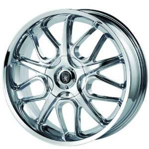 Von Max VM2 16x7 Chrome Wheel / Rim 5x100 & 5x115 with a 40mm Offset
